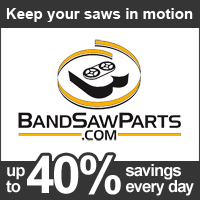 www.BandSawParts.com Over 9,000 satisfied customers worldwide save money on Parts